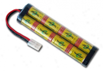 At: Tenergy 9.6v 2200mah Eminent Power Flat NicdR c Cars Battery Pack W/ Tamiya Connector
