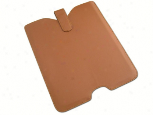 Brown Leather Skin Case Cover Pouch For Apple Ipad