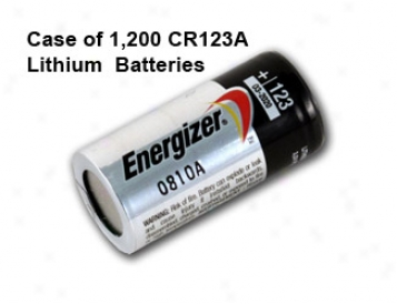 Case Of 1200 Pcs Energizer Lithium Cr123a 3v Ph0to Lithium Battery