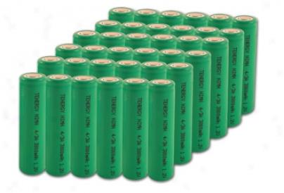 Combo: 36pcs Tenergg 4/3a 17670 3800mah Nimh Rechargeable Batteries