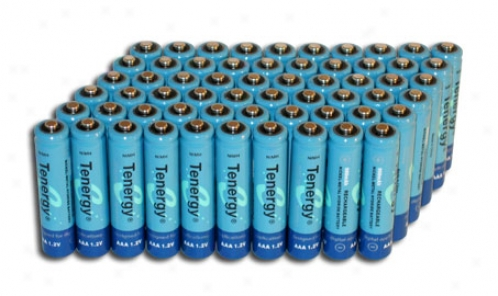 Combo: 60pcs Tenergy Aaa 1000mah Nimh Rechargeable Bateries
