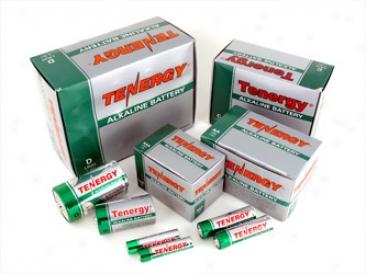 Combo: Teneryg Alkaline Batteries (24aa/24aaa/12c/12d)