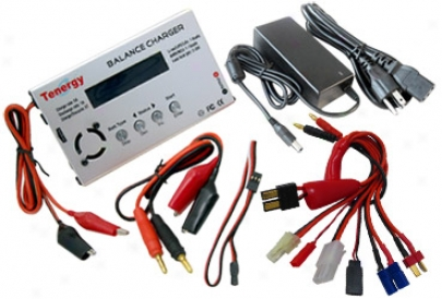 Combo: Tenergy Tb6 Balancing Charger + Rod Power Supply