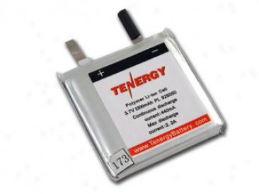 Li-polymer 3.7v 2200mah (925050) Battery - Ul Listed