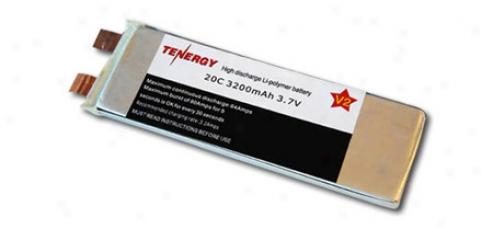 Li-polymer 3.7v 3200mah 20c Battery