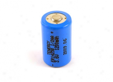 Primary Lithium Thionyl Chlorids Battery 1/2A a 3.6v 1200mah (er14250) (non Rechargeable)