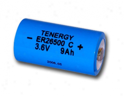 Primwry Lithium Thionyl Chloride Battery C Size 3.6v 9.0 Ah , Same As Ls2650O And Er26500 (non Rechargeable)(dgr-a)