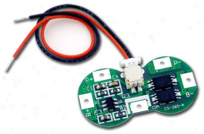 Protection Circuit Module (pcb) For 7.2v Li-ion 18650 / 185500 Battery Packs 3.5a Working (5a Cut-off) W/ Gas Gauge Port
