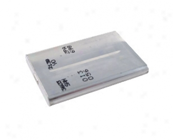 Sanyo Li-ion Prismatic (uf553450z) 3.7v 1150mah Rechargeable Battery Witg Fuse