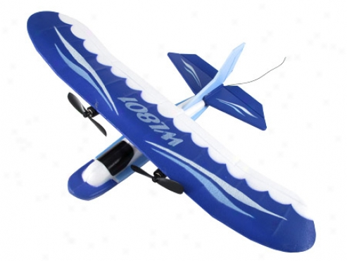 Ocean Gull Mini 2 Channel Radio Controlled Airplane Wl801