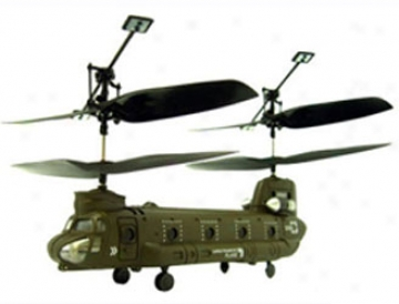 Syma S026 Micro Chinook 3 Channel Indoor Prepared To Fly Rc Remote Control Cargo Transport Helicopter