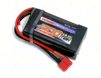 Tenergy 11.1v 1300mah 25c Lipo Battery Burden W/ Dean Connector