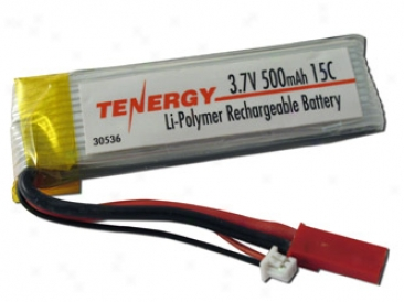 Teenrgy 3.7v 500mah 15c Lipo Battery  For E-flite Blade 120s5 Rc Helicoptersf (backordered: Sept 10th)