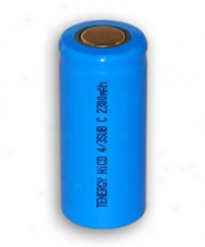 Tenergy 4/3 Subc 2300mah Nicc Fzt Top Rechargeable Battery