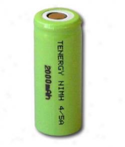 Tenergy 4/5a 2000mah Nimh Flat Highest Rechargrable Battery