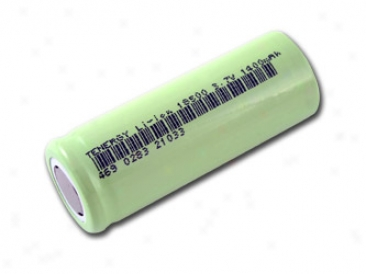 Tenergy Li-ion 18500 Cylindrical 3.7v 1400mah Flat Top Rechargeable Battery