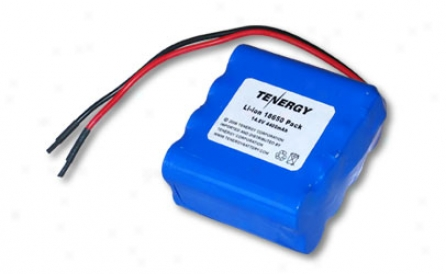 Tenergy Li-ion 18650 14.8v 4400mah Pcb Protected Rechargeable Battery Pack W/ Bare Leadw