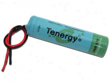 Tenergy Li-ion 18650 3.7v 2600mah Pcb Protected Rechargeable Battery Module W/ Bare Leads