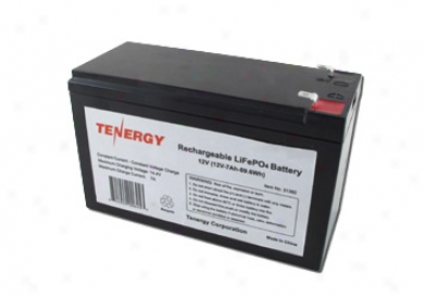Tenergy Rechargeable Lifepo4 12v 7ah 89.5wh Battery