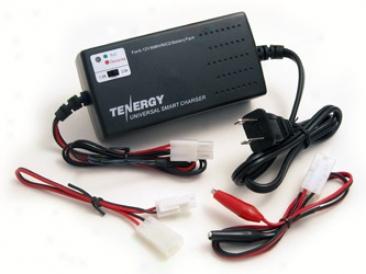 Tenergy Smart Universal Charger For Nimh/nicd Battery Packs: 6v - 12v