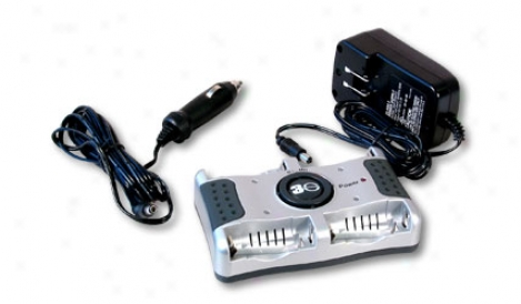 Tenergy T-8000 Uniiversal Input Aa/aaa Nimh/nicd Smart Charger
