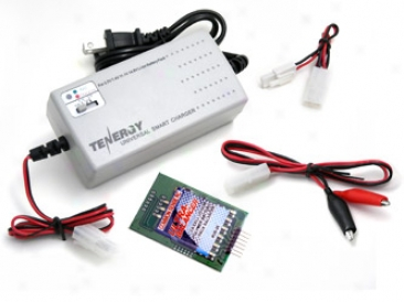 Universal Smart Tlp-2000 Charger For Li-ion/polymer Battery Collection (3.7v - 14.8v  1-4 Cells) With Lipo Pack Balancer
