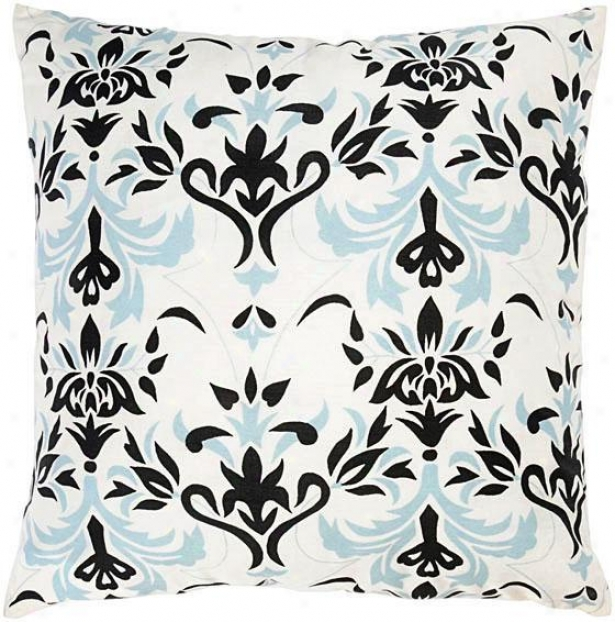 """adeline Pillow - 18""""x18"""", Ivory"""