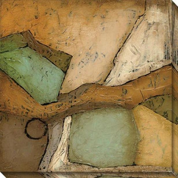 Analogous Iii Canvas Wall Art - Iii, Earthtones