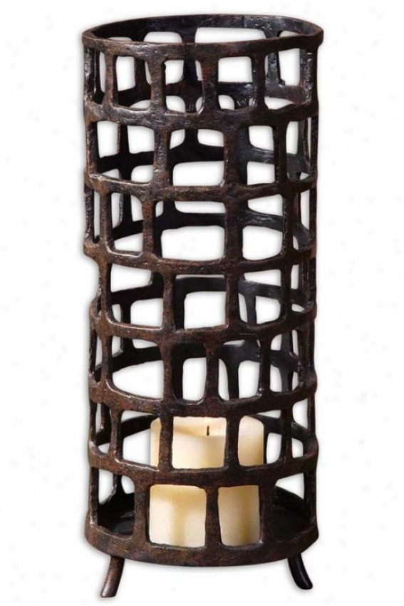 """""""arig Candleholder - 6""""""""h X 6""""""""w, Wicked"""""""