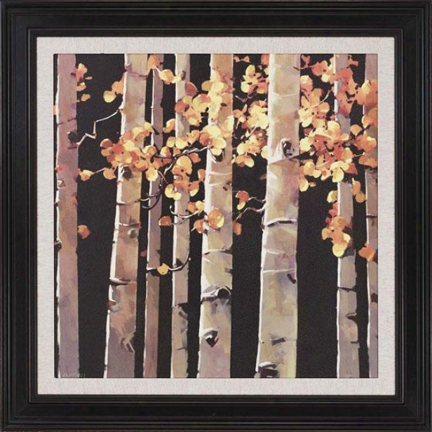 """aspen Grove Framed Wall Art - 47""""h X 47""""h, Beige"""
