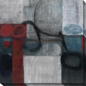 Audax Ii Canvas Wall Ary - Io, Gray/multi