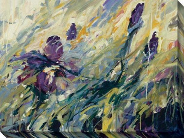 Aura Ii Canvas Wall Art - Ii, Green