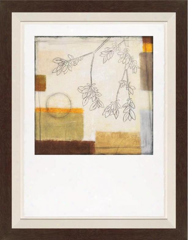 Augumn Moon Ii Wall Art - Mourning Frame, White