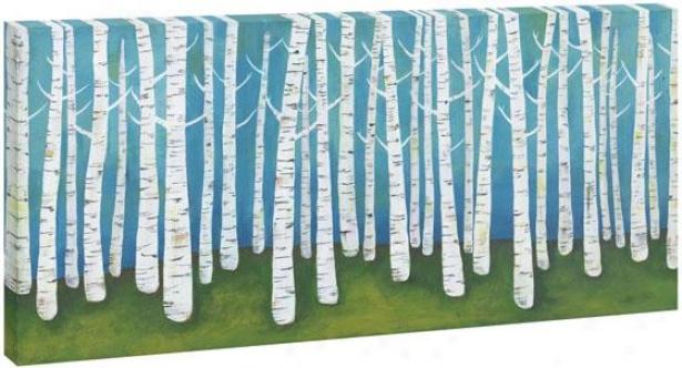 Birch Wall Art - I, Multi