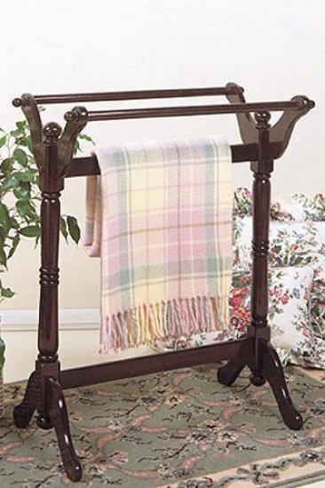 """blanket Rack - 32.5""""x25""""x16.5"""", Brick Red"""