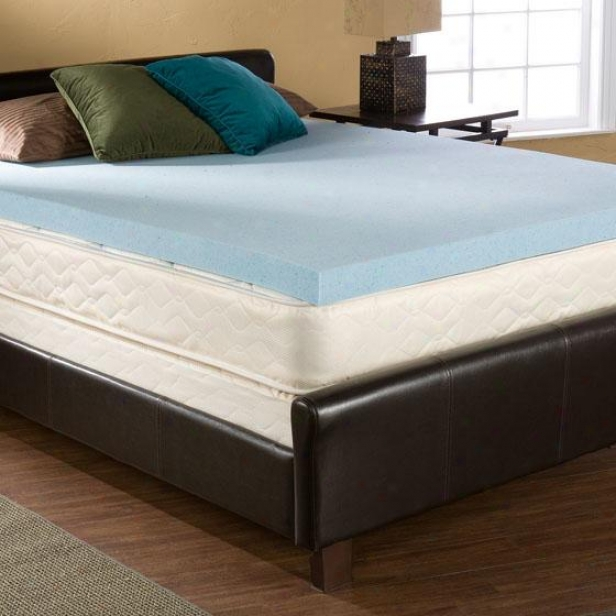 Bliss Gel-memory Foam - Queen, Blue