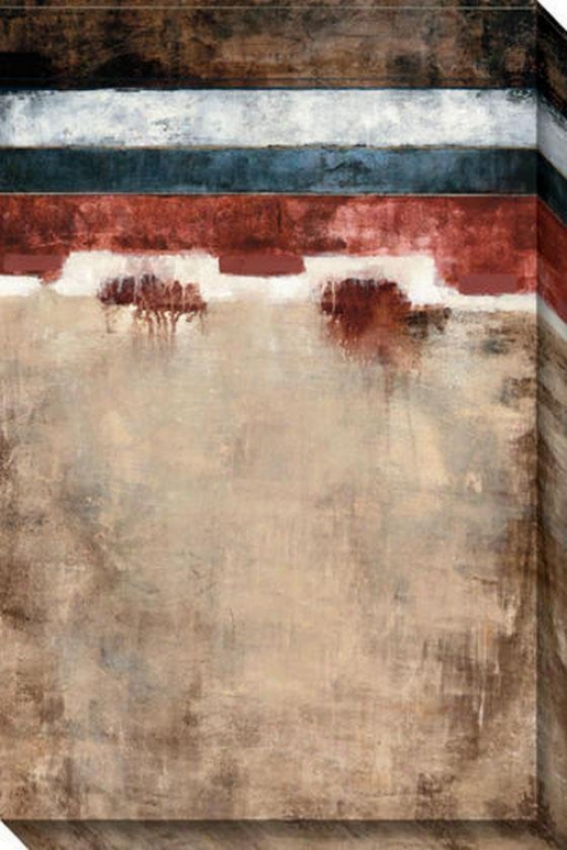 Bold Vision Ii Canvas Wall Art - Ii, White