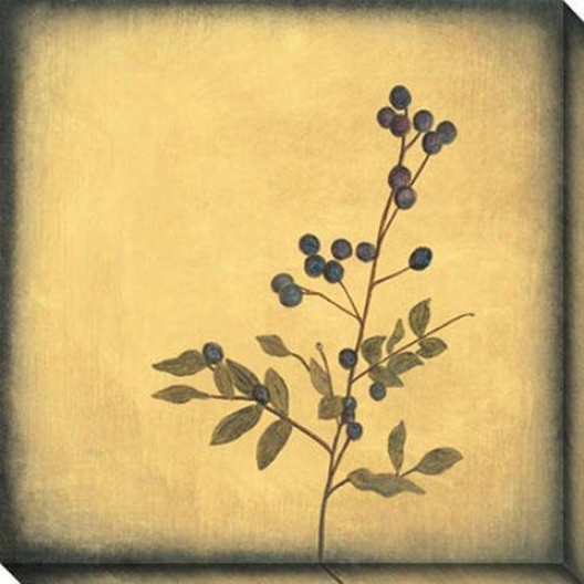 Botanica Ii Canvas Wall Art - Ii, Ivory