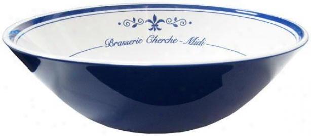 """""""brasserie Serving Bowl - 12""""""""d, White"""""""
