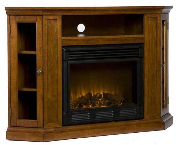 """""""camden Convertible Media Fireplace - 48""""""""wx32""""""""hx16""""""""d, Maroon"""""""