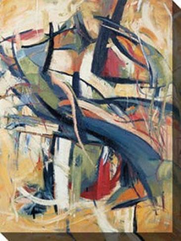"""""""cellist Vi Canvas Wall Art - 36""""""""hx48""""""""w, Multi"""""""