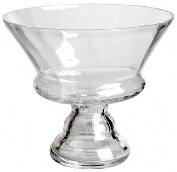 """""""Clarify Glass Bowl - 7""""""""x88"""""""", Clear Glass"""""""