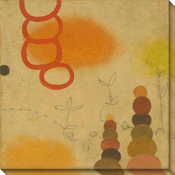 Commune Iv Canvas Wall Art - Iv, Yellow