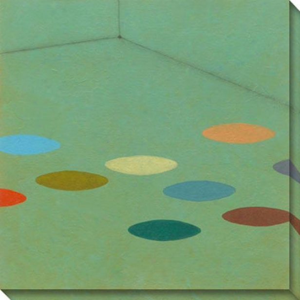 Commune Vii Canvas Wall Art - Vii, Blue