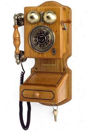 """country Kitchen Wall Phone Ii - 17.5""""hx12.25""""w,, Tan"""