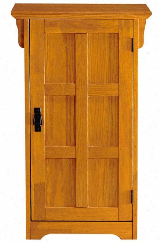 Craftsman 24-pair Shoe Storage With Doors - 1-door 24-pair, Brown