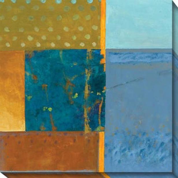 Creative Momenys I Canvas Wall Art - I, Orange