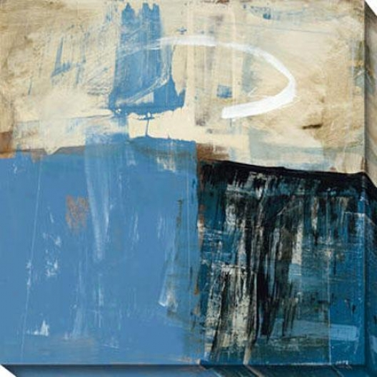 Curious Vision Ii Canvas Wall Trade - Ii, Blue