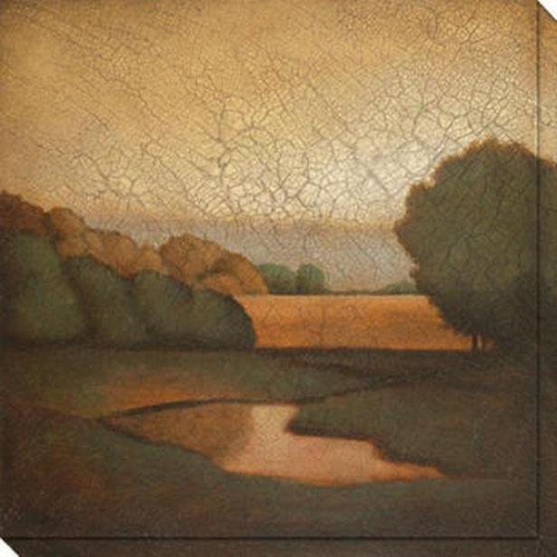 Days Remeembered Ii Canvas Wall Art - Ii, Brown