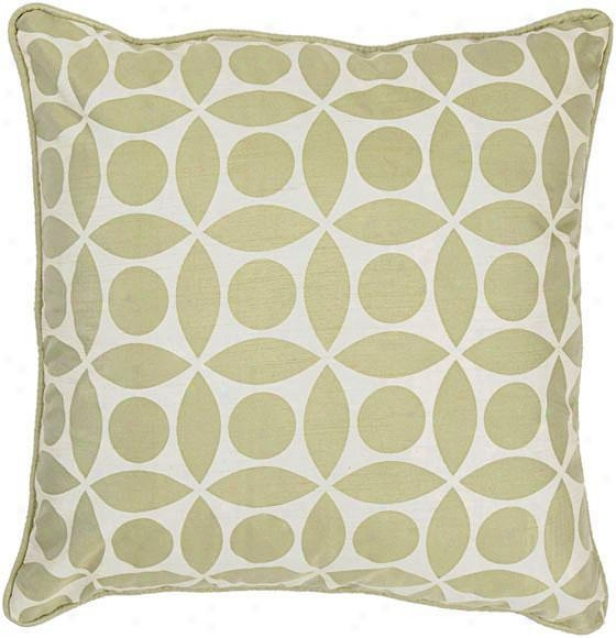 """dixie Pillow - 18""""x18"""", Green"""